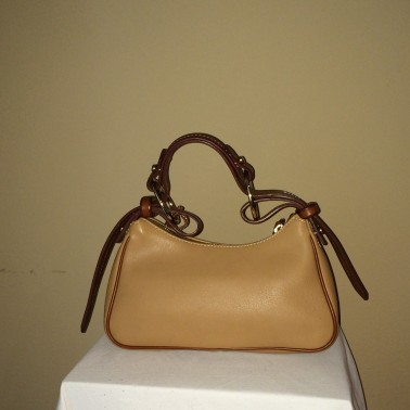 Camel Colored small Dooney and Bourke - rear