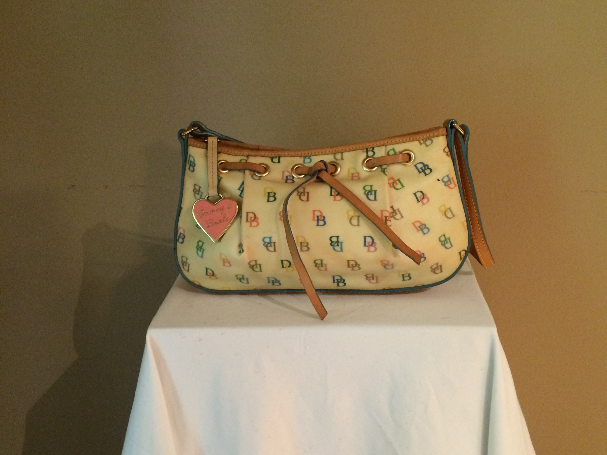 Dooney and Bourke White - front