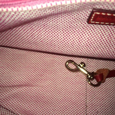 Fabric Dooney and Bourke - inside