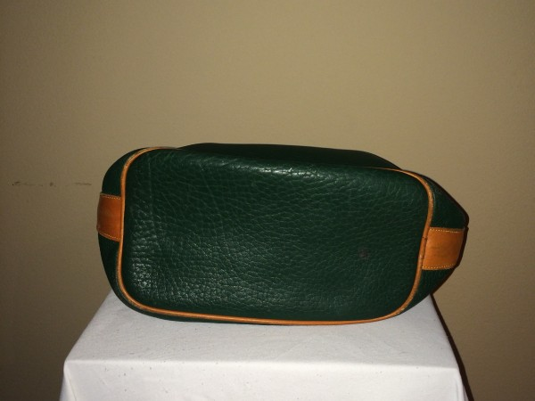 Hunter Green Dooney and Bourke - bottom