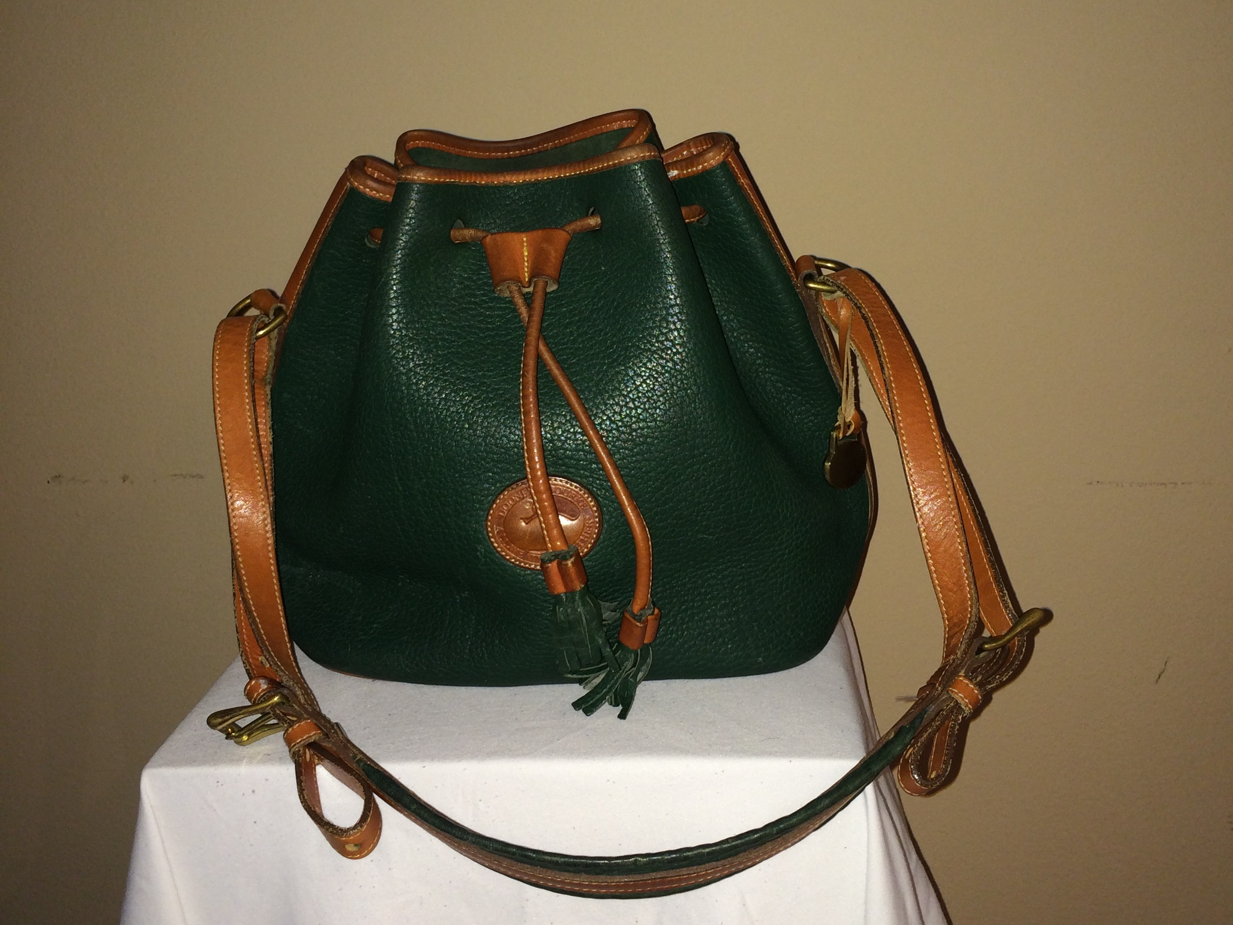 Hunter Green Dooney and Bourke - front