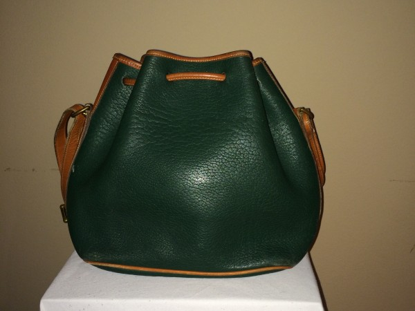 Hunter Green Dooney and Bourke - rear