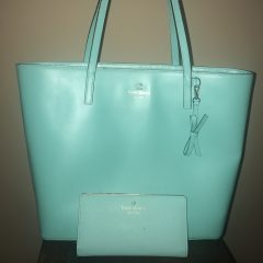 Mint-Green-Kate-Spade-with-matching-wallet-front