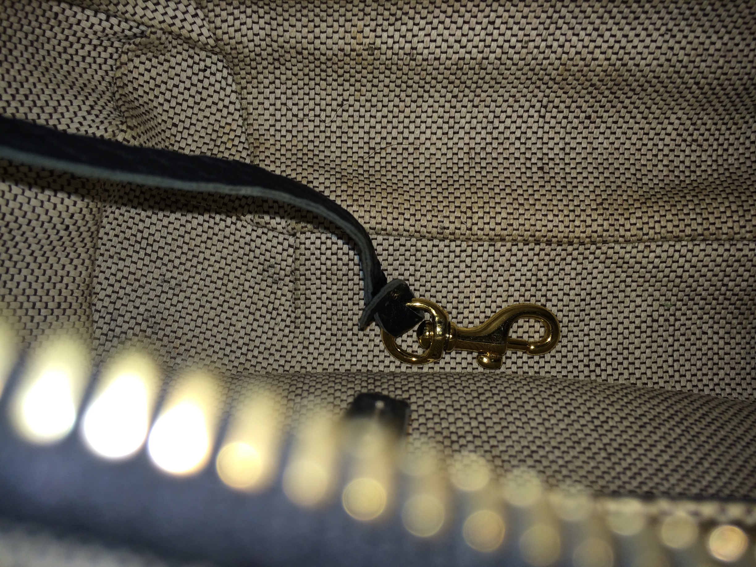 Navy Dooney and Bourke - inside