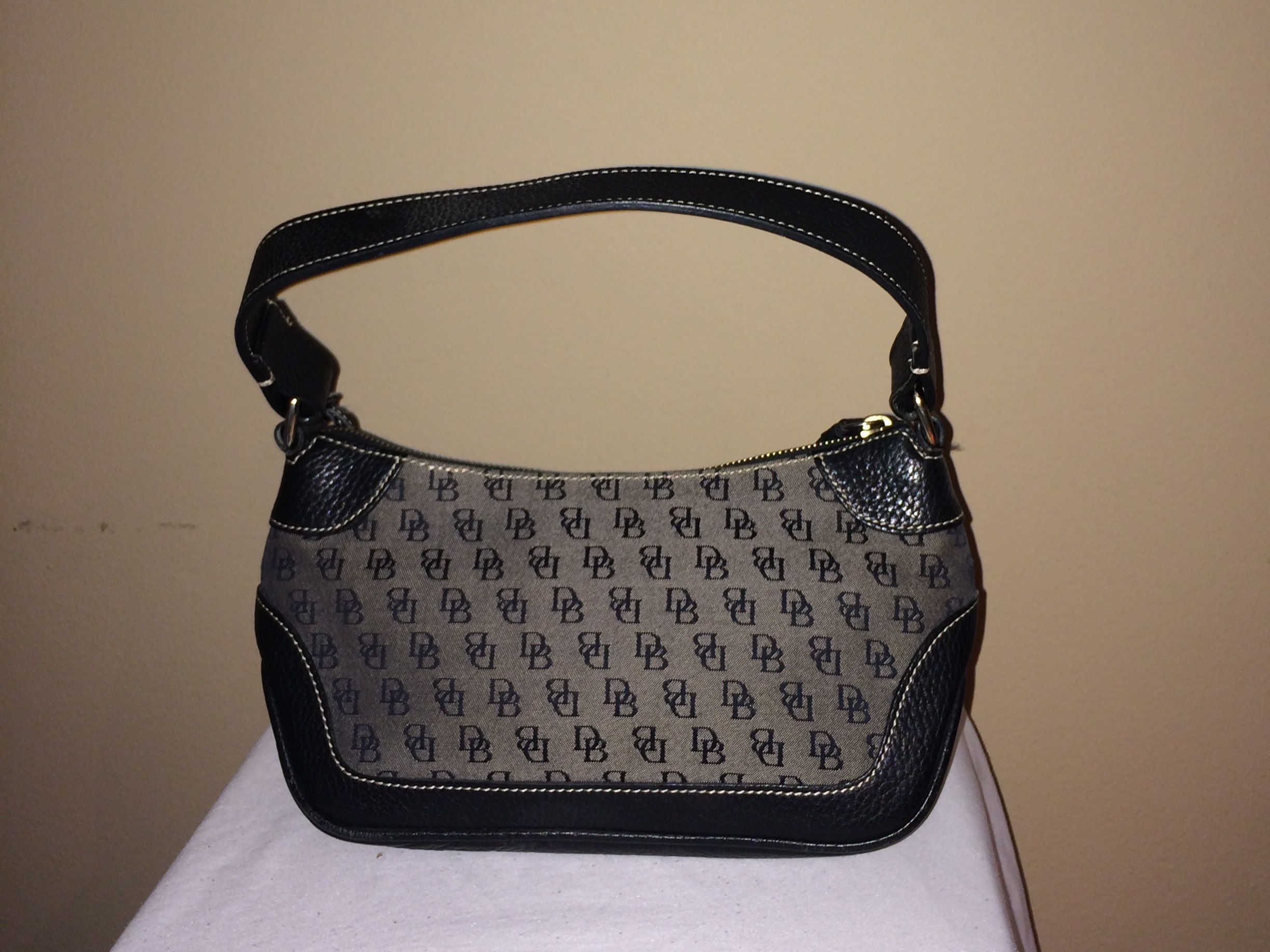 Navy Dooney and Bourke - rear
