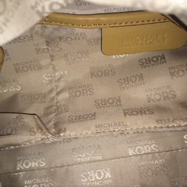 Tan Michael Kors - inside