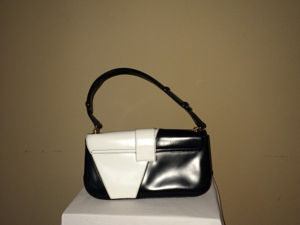 Black and White Ferragamo - rear